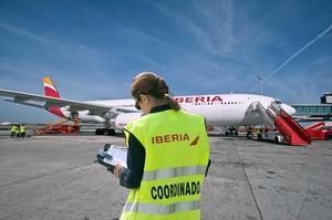Desconvocada la huelga del personal de tierra de Iberia en El Prat
