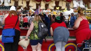Mujeres con sobrepeso en San Diego, EEUU.