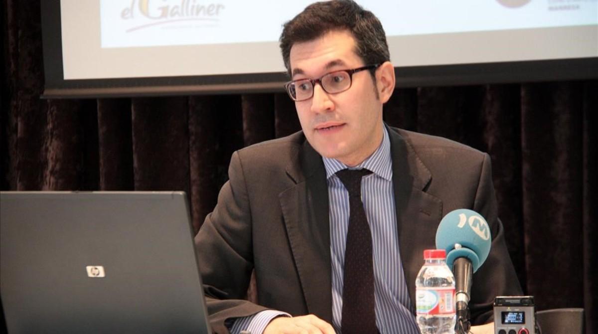 Valentí Oviedo, nuevo gerente del Institut de Cultura de Barcelona.