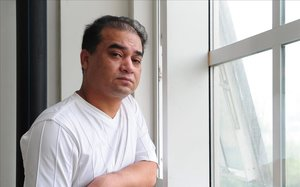 Ilham Tohti, premio Sájarov 2019, en una foto tomada en Pekín en junio de 2010.