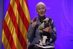 Jane Goodall, Premi Internacional de Catalunya, a la Generalitat.