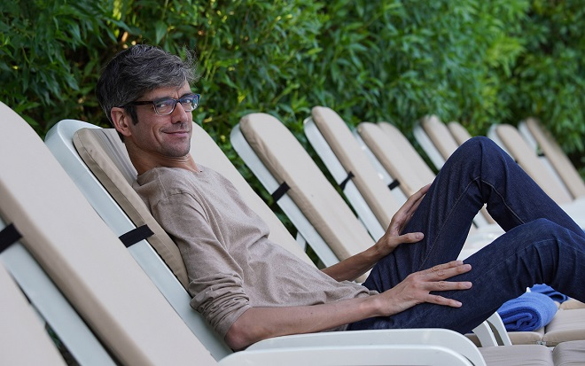 Javier Botet, entrevistado este lunes en Sitges