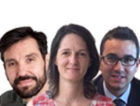 Javier Guzman, Maria José Morillas y Mario Parra