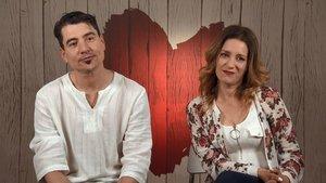 Jesús y Noelia en 'First Dates'.