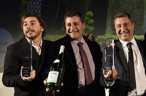 Los tres hermanos Roca: Jordi, Josep y Joan Roca en Londres