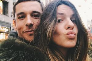 Laura Matamoros y su novio Benji Aparicio ya son padres