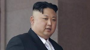 El líder norcoreano, Kim Jong-un, en un desfile militar en Corea del Norte.