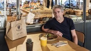 Guido Weinberg, fundador de la empresa Organic Market, en Barcelona.