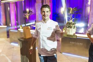 Marcel Ress, ganador de 'Top chef'.
