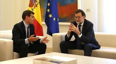 Rivera encarece el precio de su apoyo a Rajoy tras el 21-D