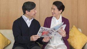 Masako y su marido, el príncipe Naruhito, el pasado 4 de diciembre en su residencia Togu, el palacio de Tokio.