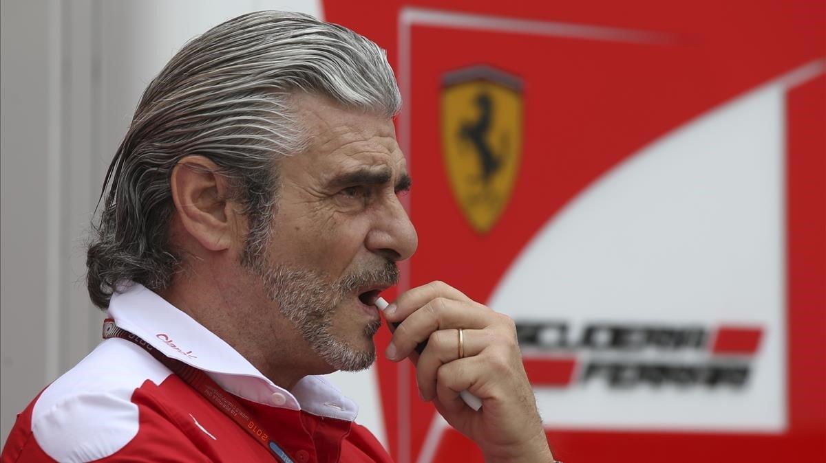 Maurizio Arrivabene, en una imagen del 2016.