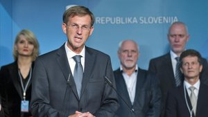 El ministro de Exteriores de Eslovenia, Miro Cerar.