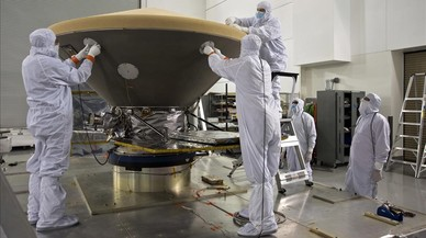La NASA lanza la nave 'Insight' para investigar la geología profunda de Marte