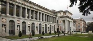 Una de las fachadas del Museo del Prado.