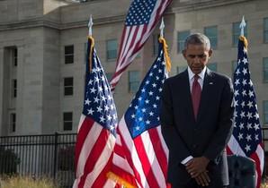 EN EL PENTÁGONO Recogimiento de Obama.