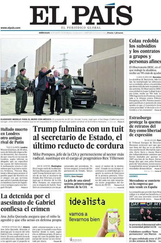 """Entre la """"torpe justicia europea"""" (Abc) y el """"bienvenido Estrasburgo"""" (El País)"""