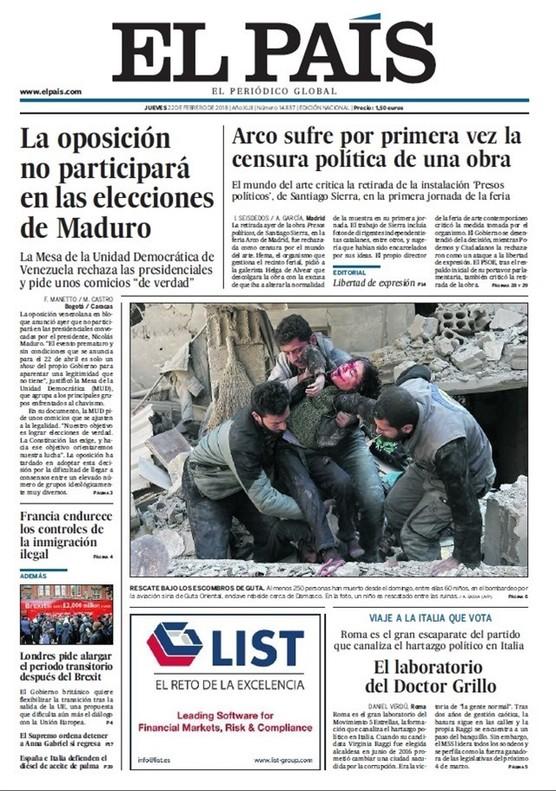 Prensa La Deriva Autoritaria De Censura Y Cárcel De España Alarma A