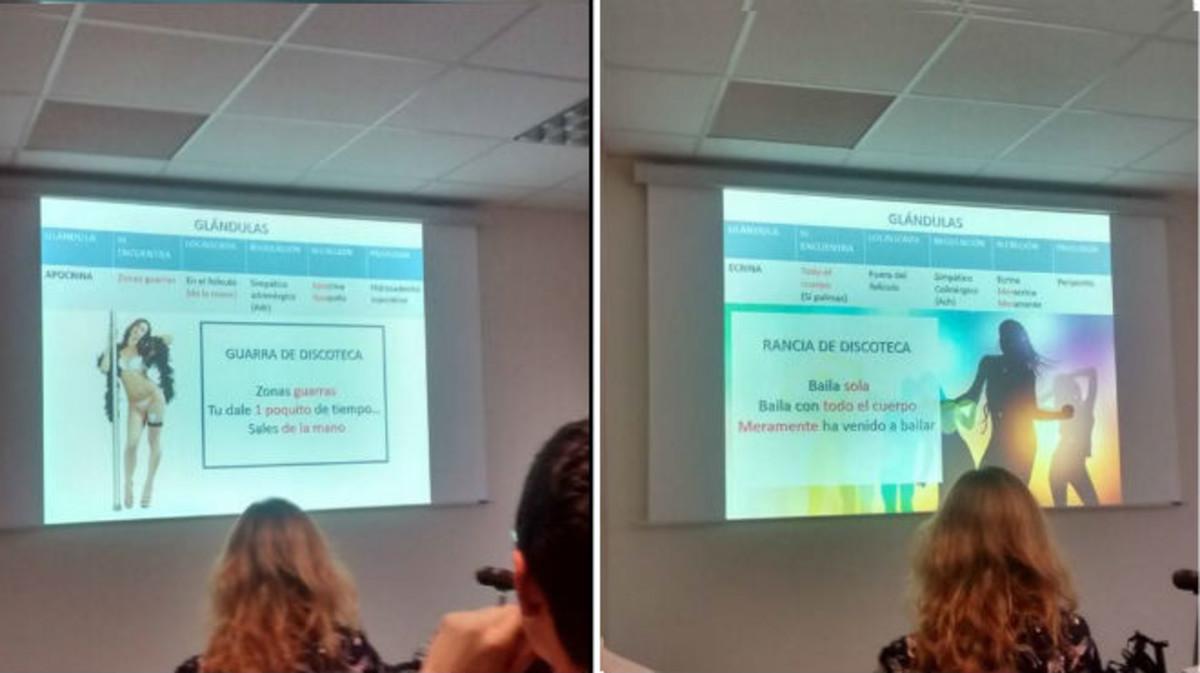 En los dos Power Point se pueden ver los dos ejemplos utilizados por el profesor