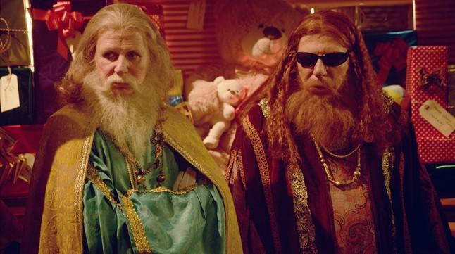 Jorge y César Cadaval, Los Morancos, en el especial de TVE-1 ¡Qué noche de Reyes!.