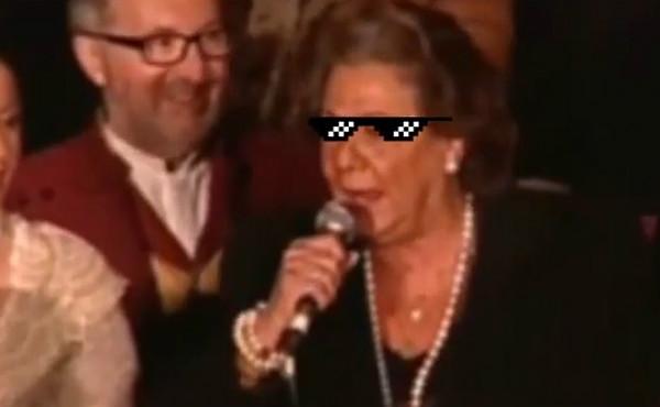 El alucinante discurso de Rita Barberà con una base de Snop Dogg en un remix de DJ Tochun de fondo.