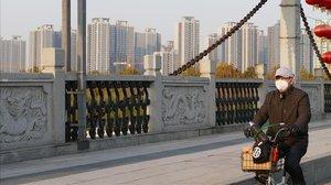 Rascacielos en Tongzhou, hace años un extrarradio rural.