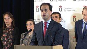 El rector de la Universidad Rey Juan Carlos, Javier Ramos.