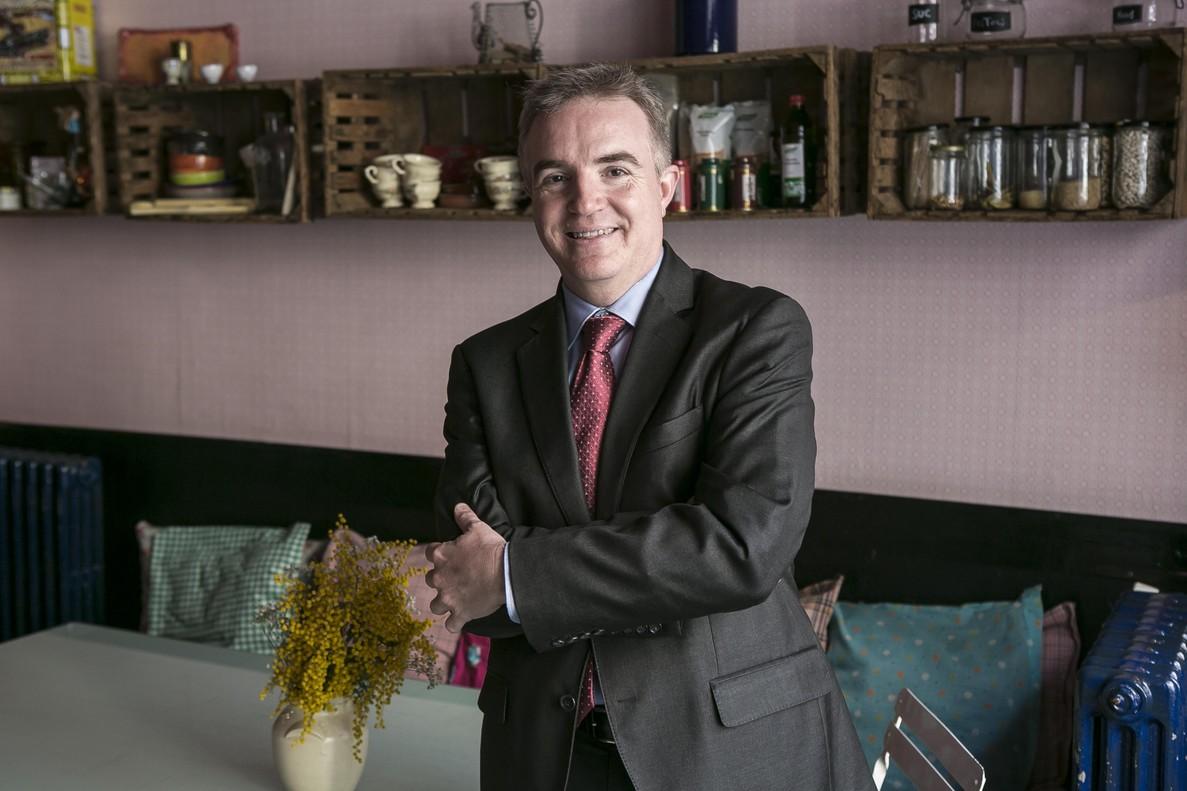 El presidente de la farmacéutica catalanaReig Jofré, Ignasi Biosca, en una imagen de archivo.
