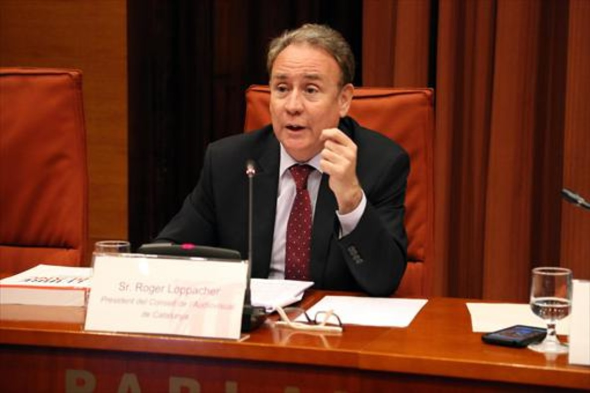 Roger Loppacher, presidente del Consell de lAudiovisual de Catalunya (CAC).