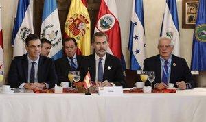 La intervención de Felipe VI y Pedro Sánchez en la Cumbre Iberoamericana, en directo