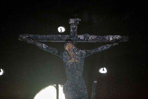 La imagen de la Sangre de Cristo, una de las más veneradas de Nicaragua.