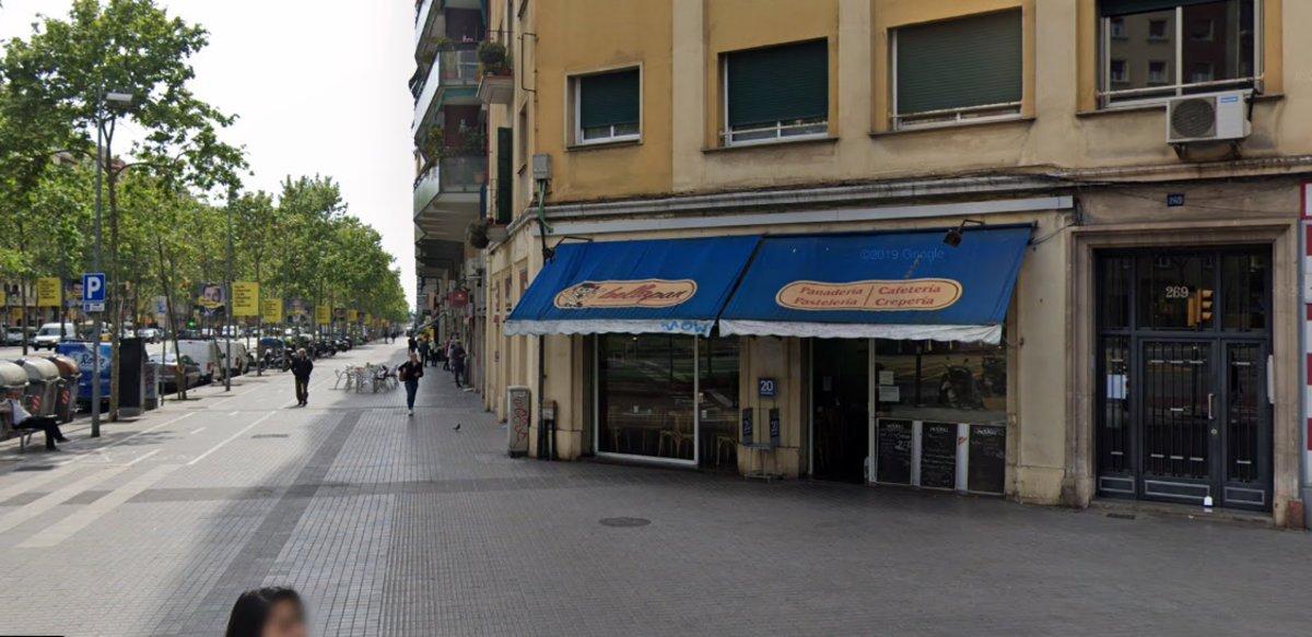 Una baralla familiar acaba amb un apunyalament i una detinguda en una fleca de Barcelona