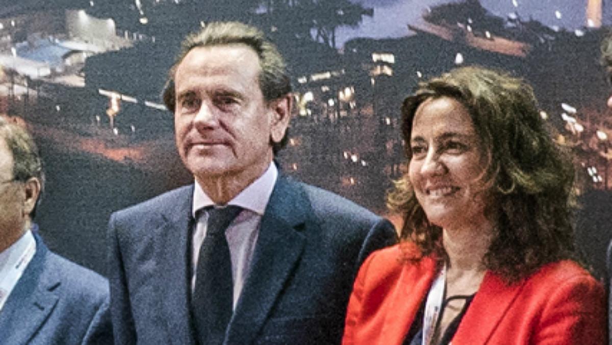 Sixte Cambra y Mercé Conesa.