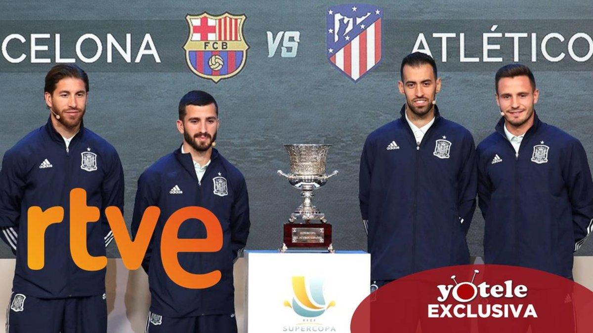 RTVE rechaza emitir la Supercopa de España de Fútbol tras conocerse que se celebrará en Arabia Saudí