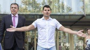 El supuesto hijo de Julio Iglesias Javier Sánchez en los juzgados de València