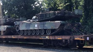 Tanques M1 Abrams.