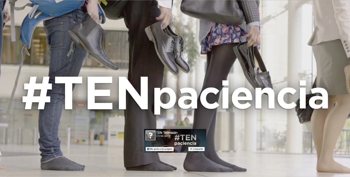 Imagen promocional de Ten, el nuevo canal de televisión del grupo Secuoya.