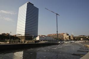 La Torre Auditori de Barcelona en la que se instalará Asus