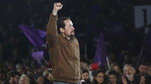 Iglesias fa una última crida als votants del PSOE