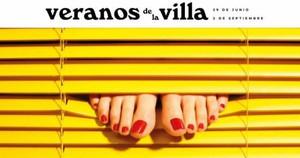 Uno de los carteles de esta edición de Veranos de la Villa.