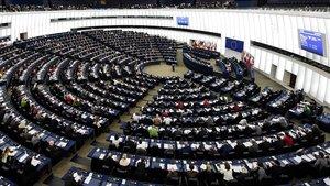 Votación durante una sesión ordinaria en el Parlamento Europeo