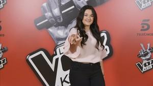 Rocío Aguilar, flamante ganadora de la última edición de 'La Voz kids'.