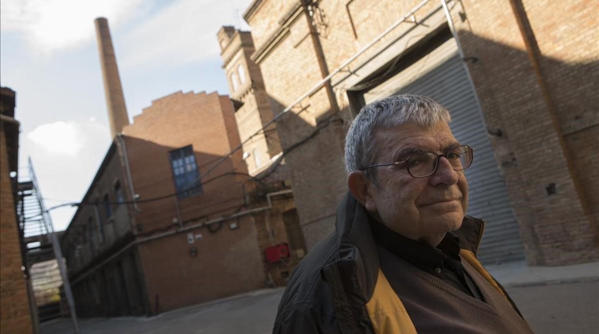 Josep Maria Domingo en Can Batlló.