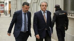 """Santi Vila afirma en la seva defensa que és contrari a """"estatègies unilaterals"""""""