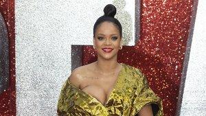 Rihanna, en el estreno en Londres del filme 'Oceans 8', el pasado junio.
