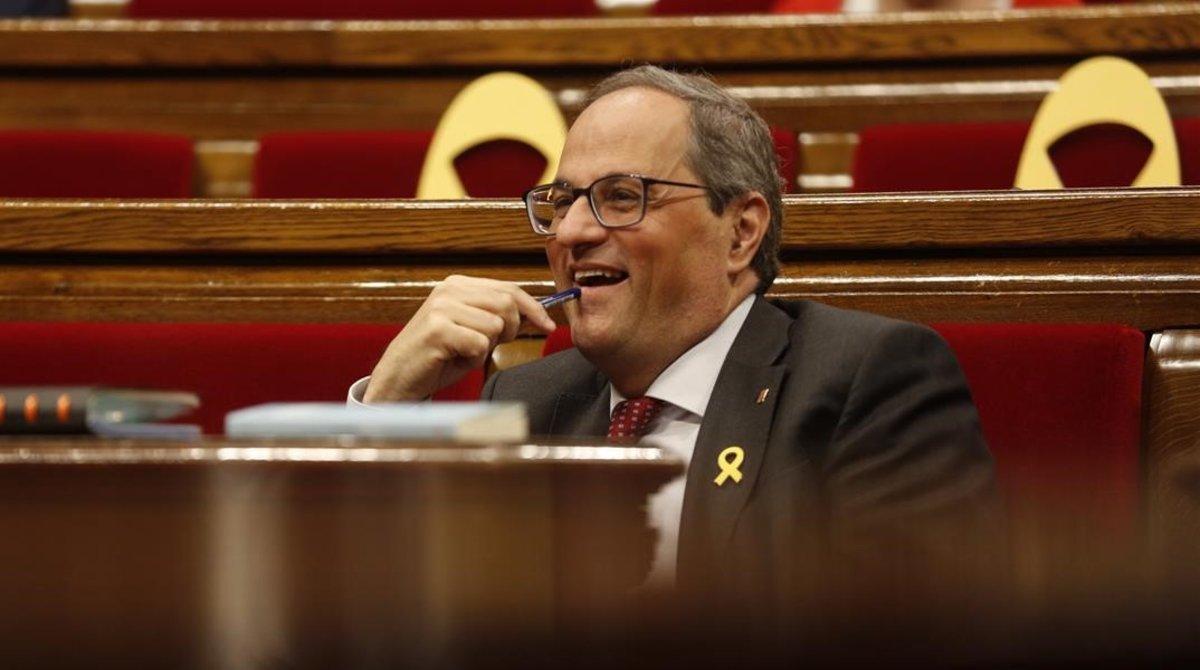 """Torra avisa Sánchez que no pot """"governar contra Catalunya"""""""