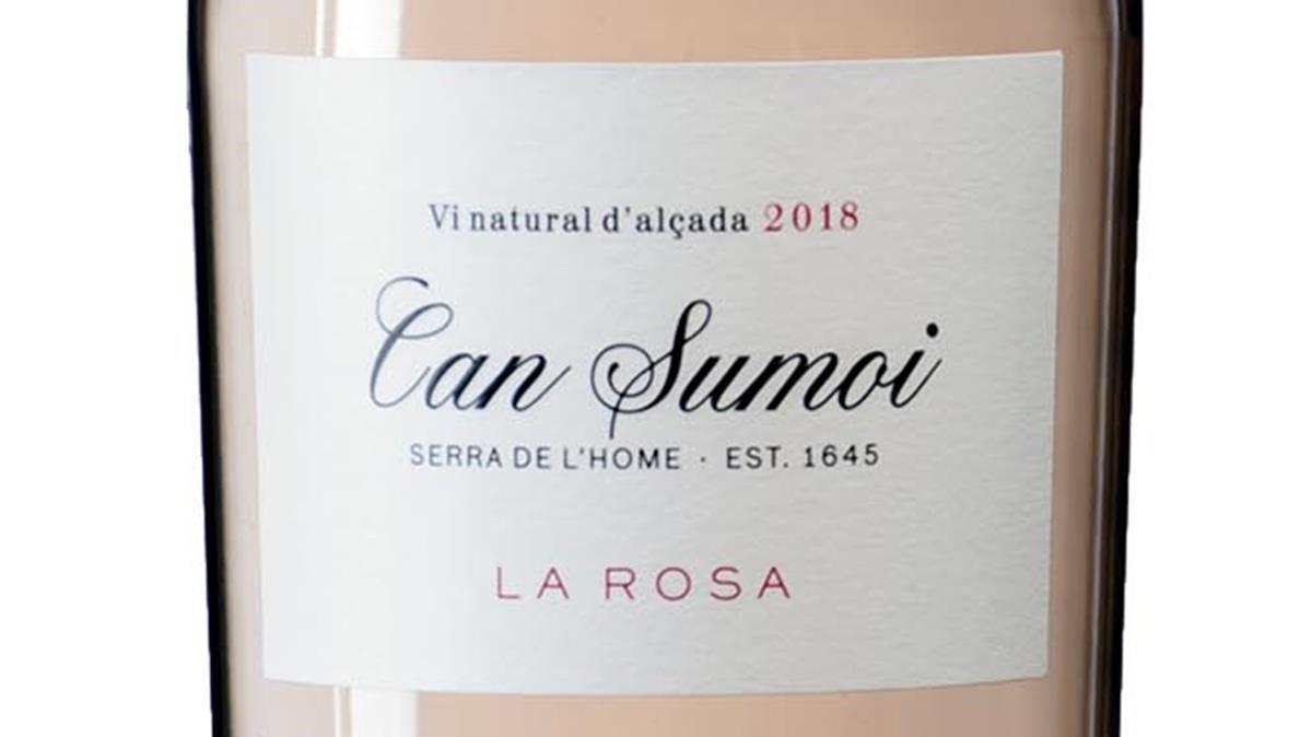 Can Sumoi La Rosa 2018, rosat natural