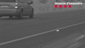 El coche del infractor real fotografiado a 135 kilómetros por hora en la AP-7 hace seis años.