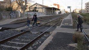 La vieja estación de Cambrils, que el lunes 13 dejará de funcionar.