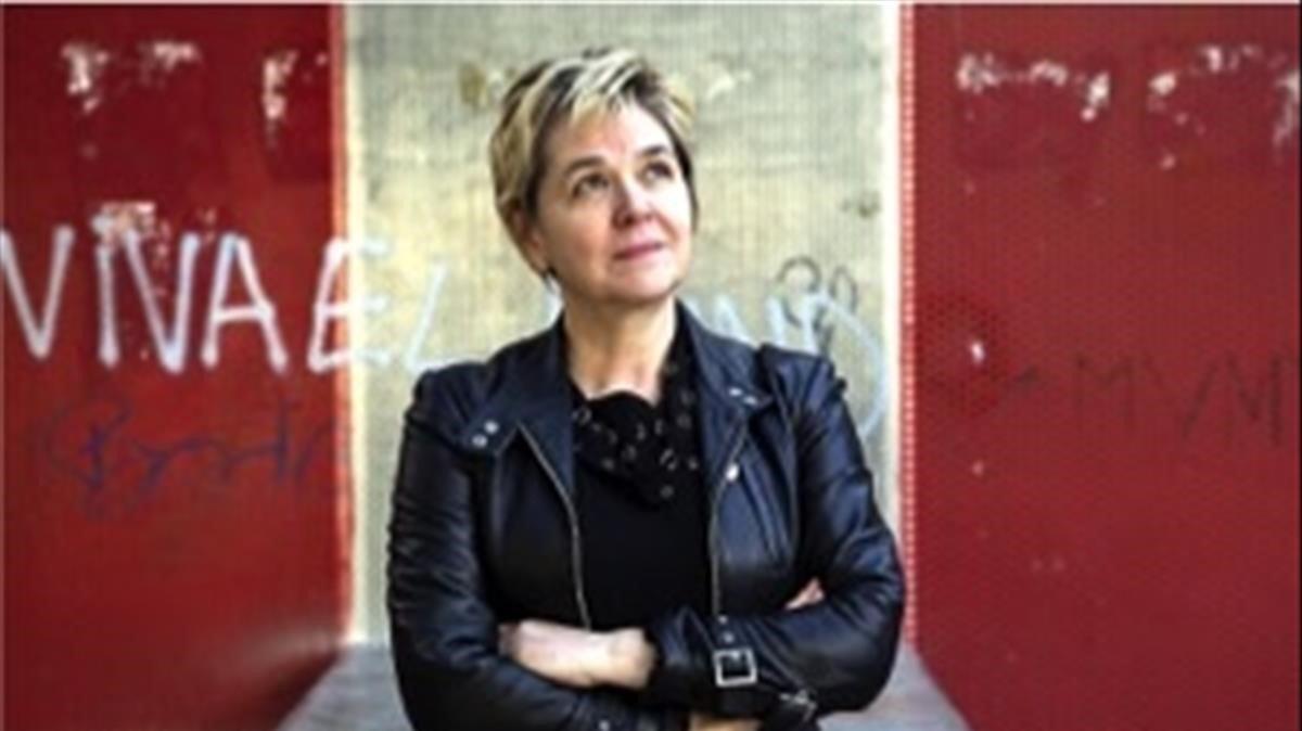 La escritoraMarta Marín-Dòmine.